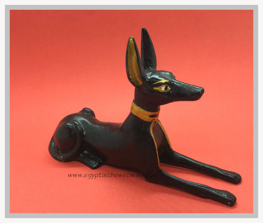 God Anubis statue (black)