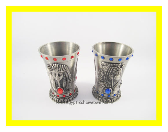 Silver drink cups