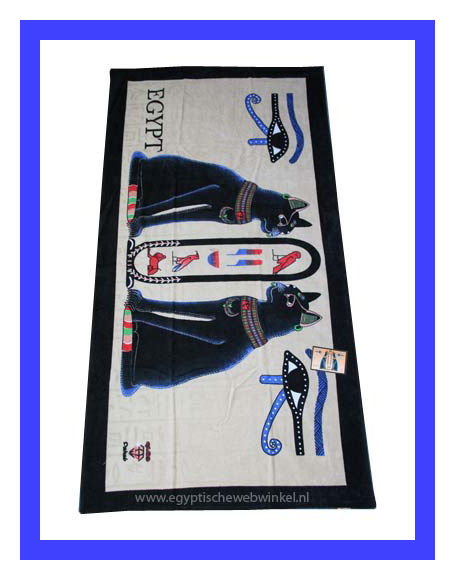 Goddess Bastet towel
