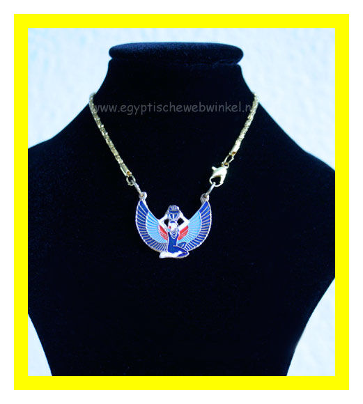 Winged Isis necklace