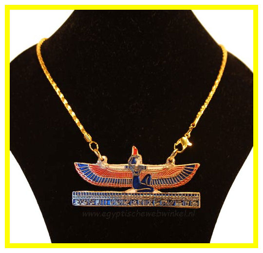 Winged Isis necklace 2