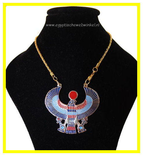 Horus Falcon necklace