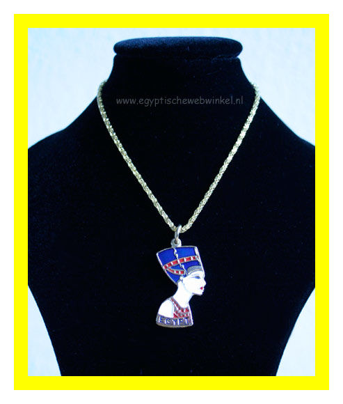 Nefertiti necklace