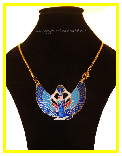 Winged Isis necklace 3