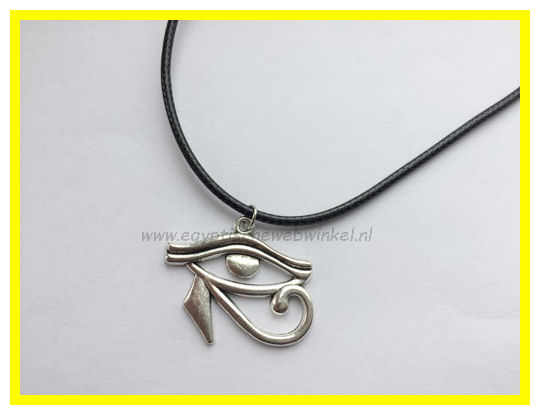 Horus-eye necklace Z