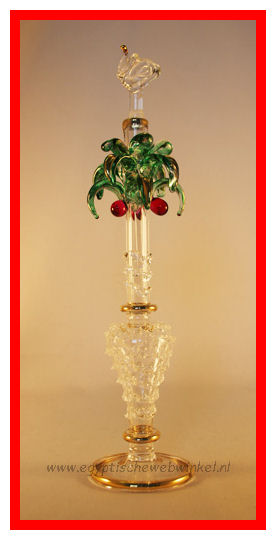 Palm tree perfume bottle 2