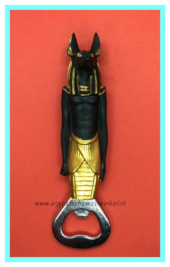 God Anubis bottle opener