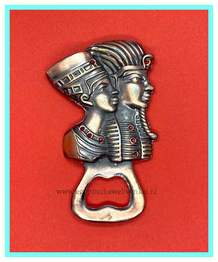 Tutankhamun and Nefertiti bottle opener B