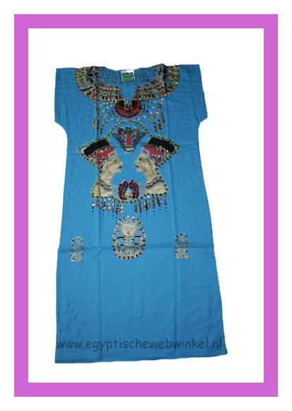 Nefertiti blue dress