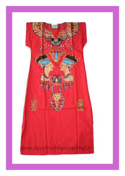 Nefertiti red dress