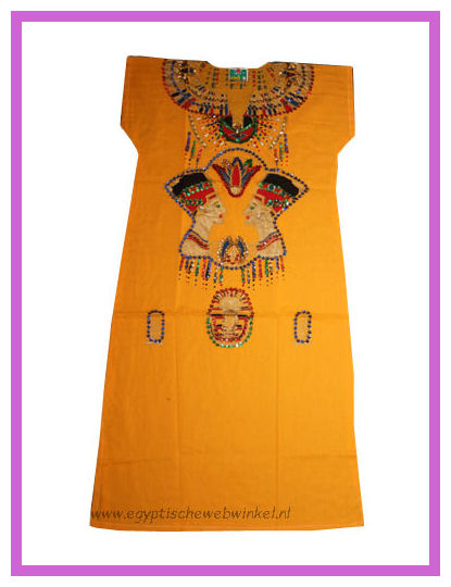 Nefertiti yellow dress