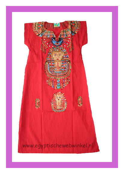 Tutanchamon red dress