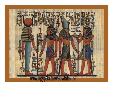 Horemheb, Horus and Hathor papyrus