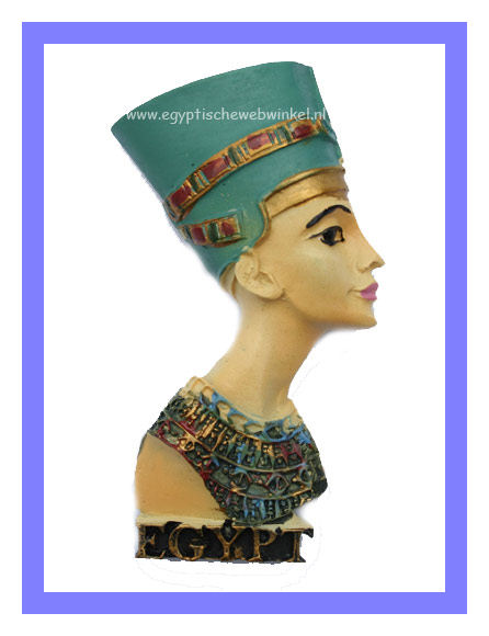 Decoratieve magneet Nefertiti