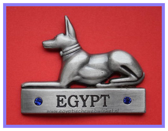 Decorative magnet Anubis S
