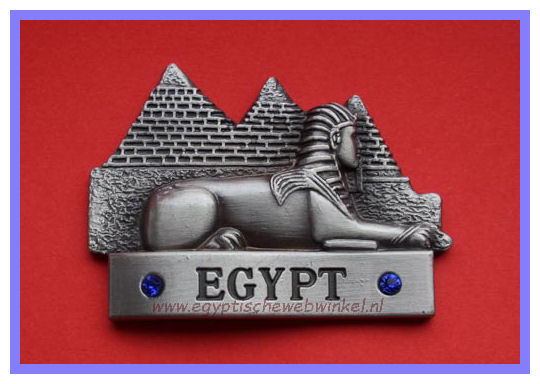Decorative magnet Sphinx