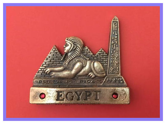 Decorative magnet Sphinx B
