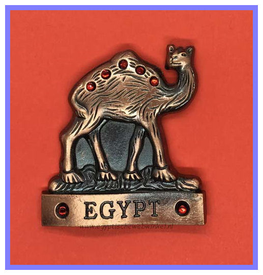 Decorative magnet camel B