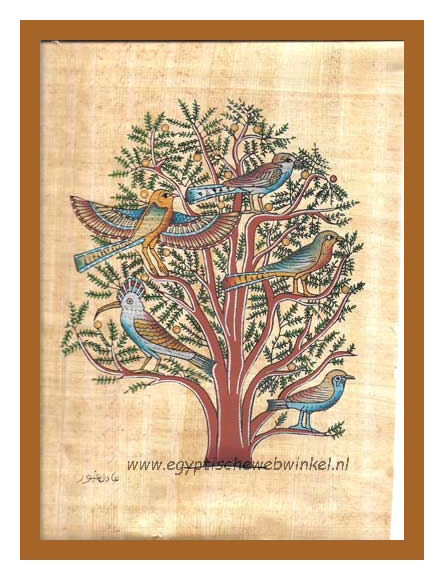 Tree of life papyrus