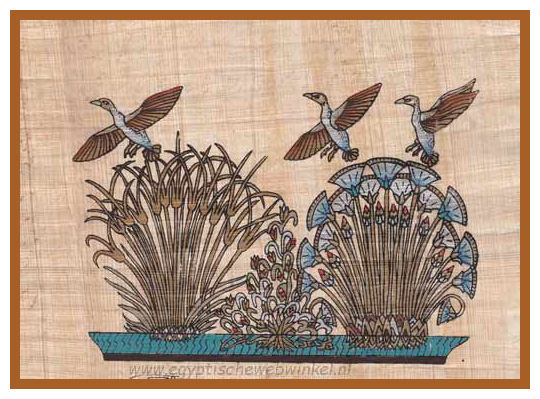 Flying ducks papyrus