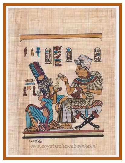 Toetanchamon and his wife Anchesenamon