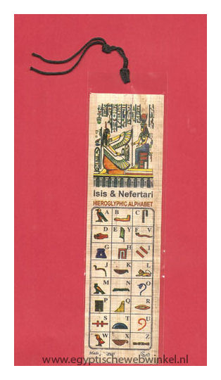 Isis and Nefertari bookmarks