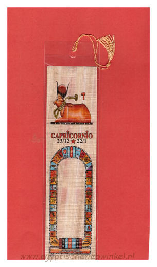 Capricorn bookmark