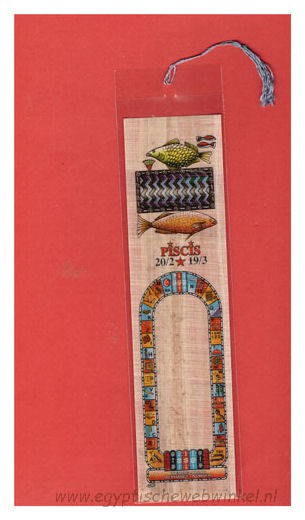 Piscis bookmark