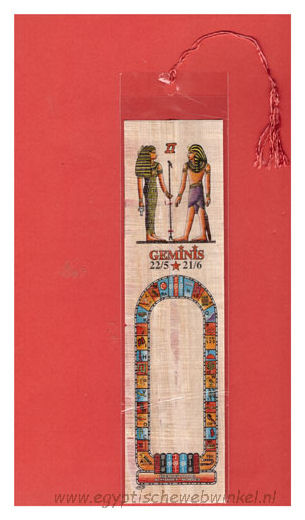 Geminis bookmark
