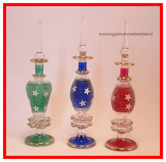 Ras Sidr perfume glass bottels set