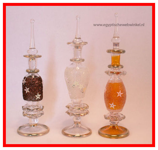 Ras Sidr 2 perfume glass bottels set