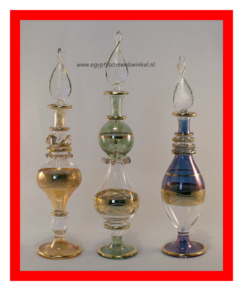 Alexandria perfume glass bottels set