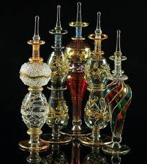 Egyptian blown glass