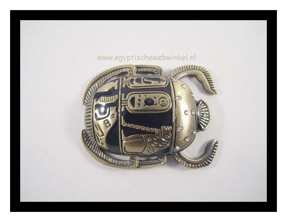Golden scarab M