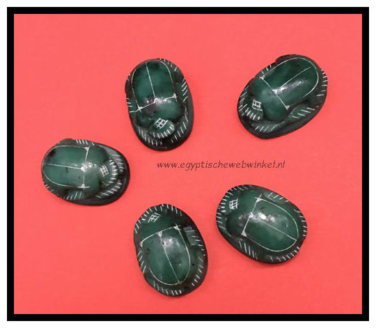Green scarabs M