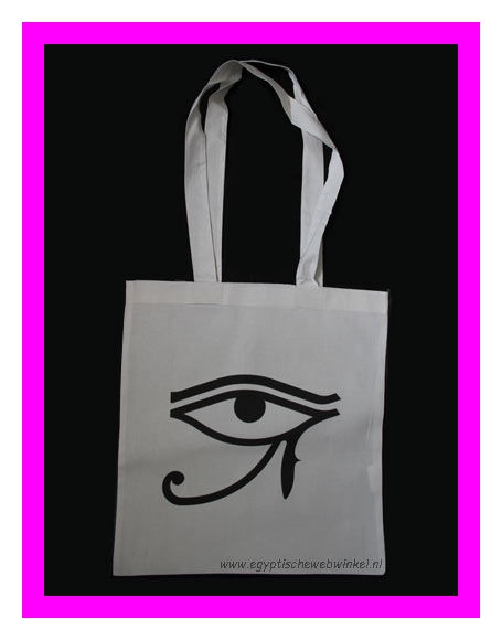 Horus eye schoulder bag
