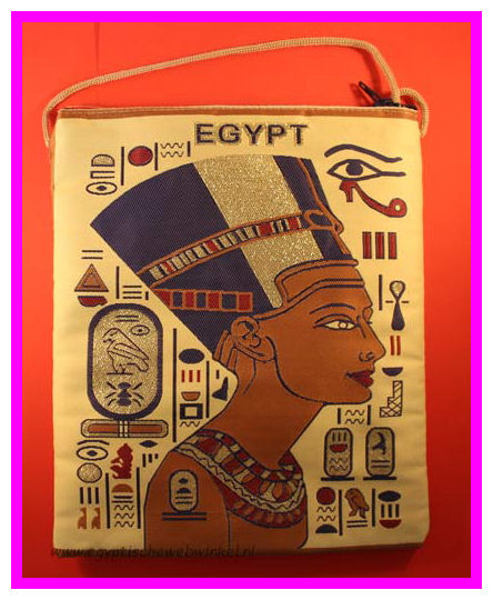 Nefertiti schoulder bag